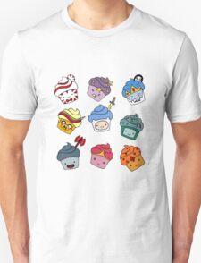Adventurous Cupcakes Unisex T-Shirt