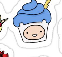 Adventurous Cupcakes Sticker