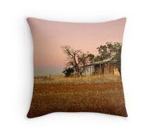 Twilight Cottage Throw Pillow