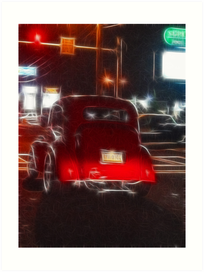 Saturday Night Cruiser by Trudy Wilkerson