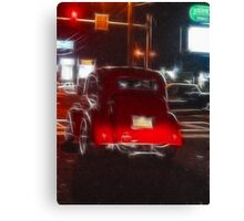 Saturday Night Cruiser Canvas Print