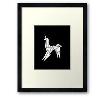 BLADERUNNER ORIGAMI UNICORN Framed Print