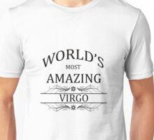 World's Most Amazing Virgo Unisex T-Shirt