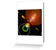 Hyper Lights Greeting Card
