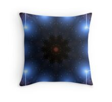 Cosmic Aura Throw Pillow