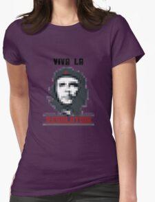 VIVA LA RESOLUTION Womens Fitted T-Shirt