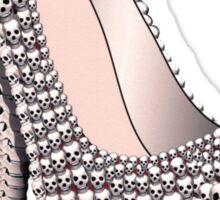 Skull Shoe - Spine Heel - Fashion High Heel Sticker
