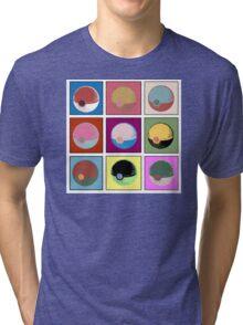 POKEBALL x9 Tri-blend T-Shirt