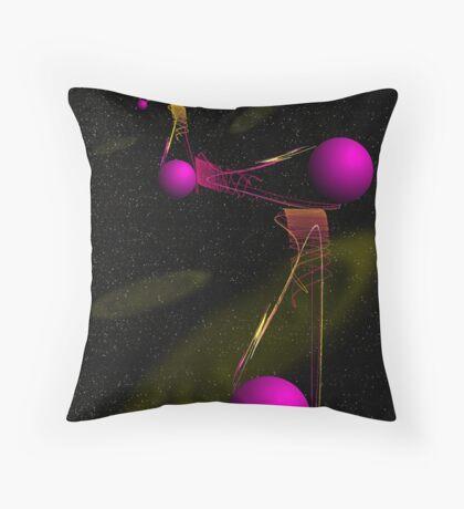 Apophyspheres-Spanning the Universe Throw Pillow