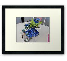 Bundle of Blue Framed Print
