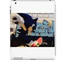 Sonic in the streets iPad Case/Skin