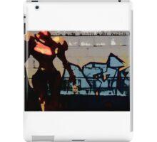 Samus in the streets iPad Case/Skin