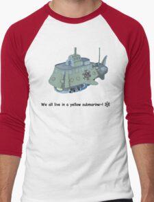 The Heart Pirate's Ship Men's Baseball ¾ T-Shirt