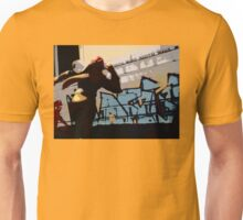 Captain Falcon in the streets Unisex T-Shirt