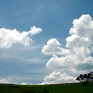 Blue Sky, White Clouds... by Grace Leung