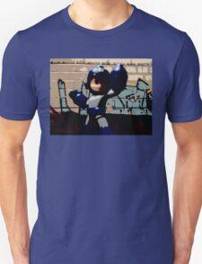 Mega man in the streets Unisex T-Shirt