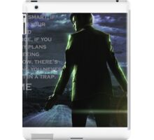 Doctor Who Trap iPad Case/Skin