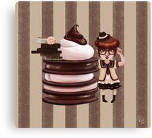 Chocolate Nerd Canvas Print