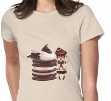 Chocolate Nerd Womens Fitted T-Shirt