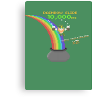 8-Bit Leprechaun Canvas Print
