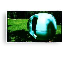 Blueberry Playground Canvas Print