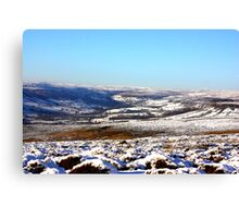 Views of the North Yorks Moors National Park Canvas Print