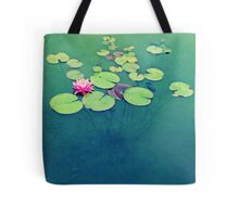 Lily Pond Blues Tote Bag