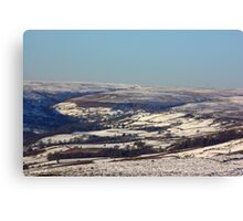 Views of the North Yorks Moors National Park #2 Canvas Print