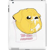 Jake's Ice-Cream Marathon iPad Case/Skin