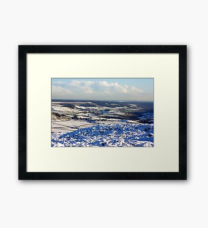 Views of the North Yorks Moors National Park #6 Framed Print