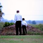 Like Father, Like Son.... by Bill and Sarah Wedding Photography