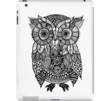 Zentangle Owl iPad Case/Skin