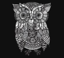 Zentangle Owl Kids Clothes
