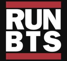 BTS Bangtan Boys 'RUN BTS' by PaolaAzeneth