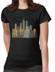 City Lights Womens Fitted T-Shirt