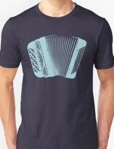 Accordion blue T-Shirt