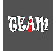 I IN TEAM Photographic Print