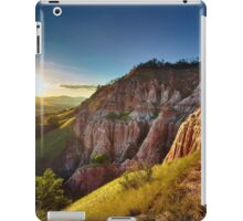 Sunset in the mountains, Red Ravine iPad Case/Skin