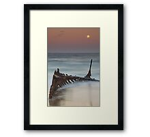The Cruel Sea Framed Print