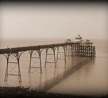 Clevedon Pier. by Livvy Young