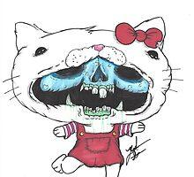 HELL-O Kitty by Zachd727