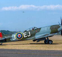 Supermarine Spitfire FR.XIVe MV293 G-SPIT by Colin Smedley