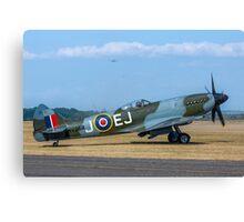 Supermarine Spitfire FR.XIVe MV293 G-SPIT Canvas Print
