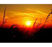 central sun Photographic Print