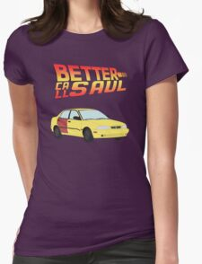 Back to the Future Saul Womens Fitted T-Shirt