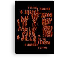Chaos theory's Homeostasis Canvas Print