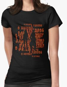 Chaos theory's Homeostasis Womens Fitted T-Shirt