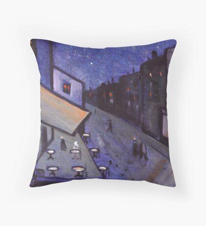 Night cafe Throw Pillow