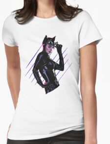 Catwoman Womens Fitted T-Shirt
