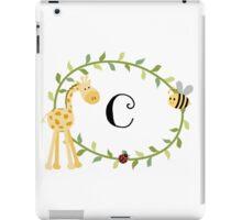 Nursery Letters C iPad Case/Skin